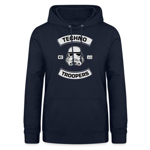 techno troopers - Frauen Hoodie