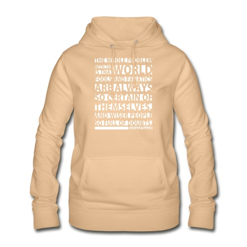 The Whole Problem with the World - Women's Hoodie