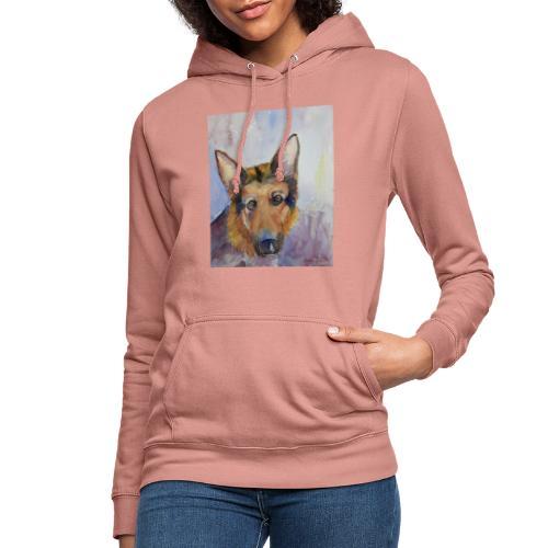 german shepherd wc - Dame hoodie