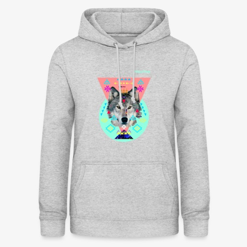 LOUP PERCEPTION 6 PERCEPTION CLOTHNIG - Sweat à capuche Femme