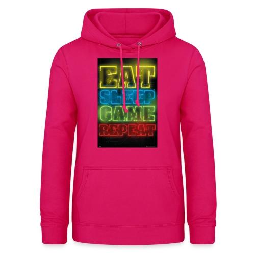 eat sleep game repeat - Vrouwen hoodie