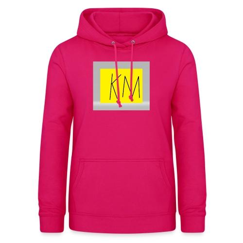 KM logo kleding - Vrouwen hoodie