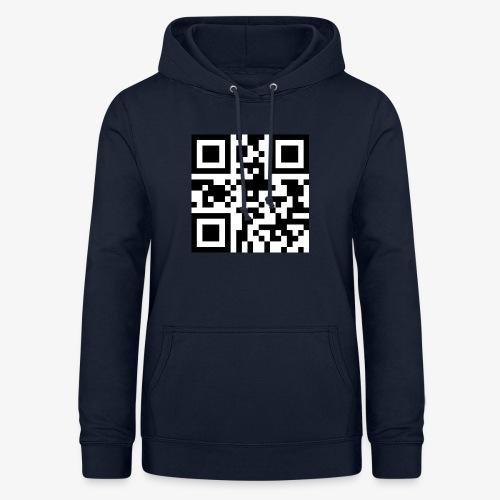 QR Code Unique - Women's Hoodie