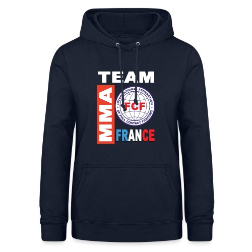 FCF MMA France team - Sweat à capuche Femme
