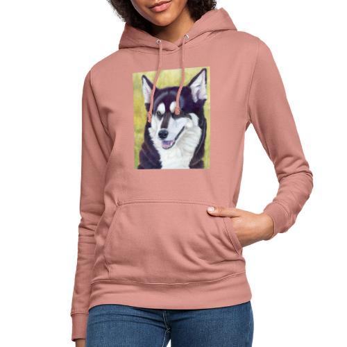 Siberian husky - Dame hoodie