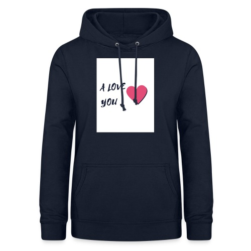 A LOVE YOU 2 - Sweat à capuche Femme