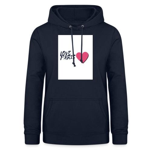 love paris 2 - Sweat à capuche Femme