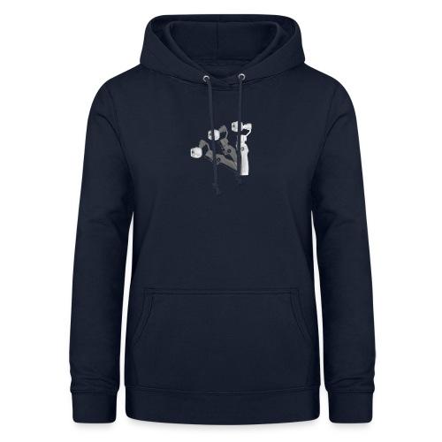 VivoDigitale t-shirt - DJI OSMO - Felpa con cappuccio da donna