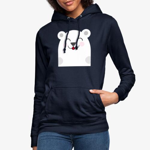 Oso kawaii - Sudadera con capucha para mujer