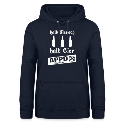 Halb Mensch halb Bier2 - Frauen Hoodie