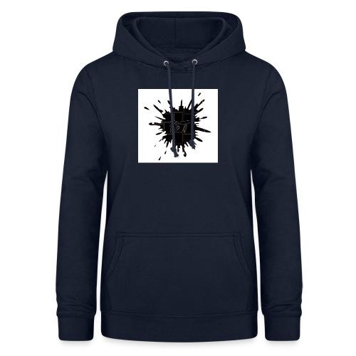 Blacktuber Splash Logo - Vrouwen hoodie