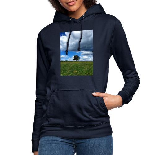 Der einsame Baum - Frauen Hoodie