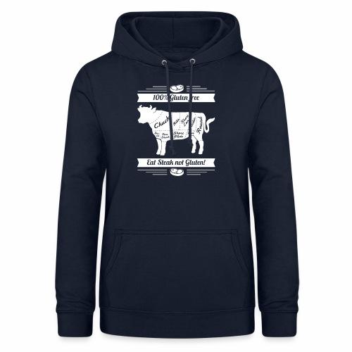 Lustiges Design für Fleisch-Fans - Frauen Hoodie