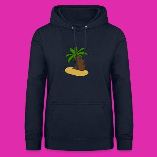 palm tree design - Women's Hoodie