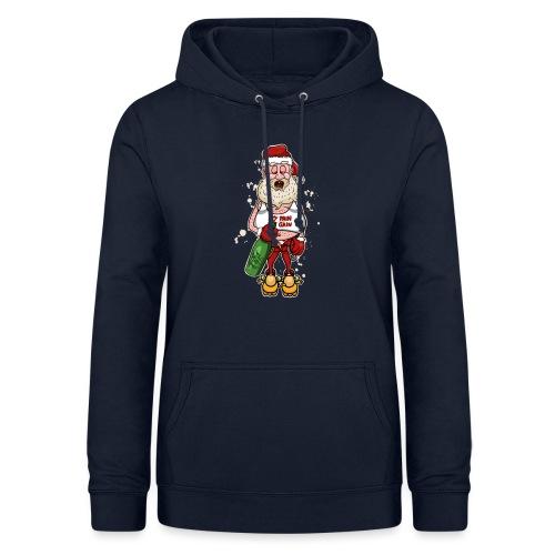 Bad Santa / Weihnachtsmann - Frauen Hoodie