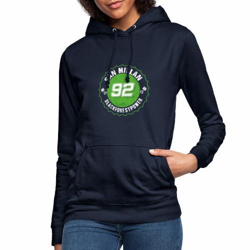 San Millan Blackforestpower 92 rund - Frauen Hoodie