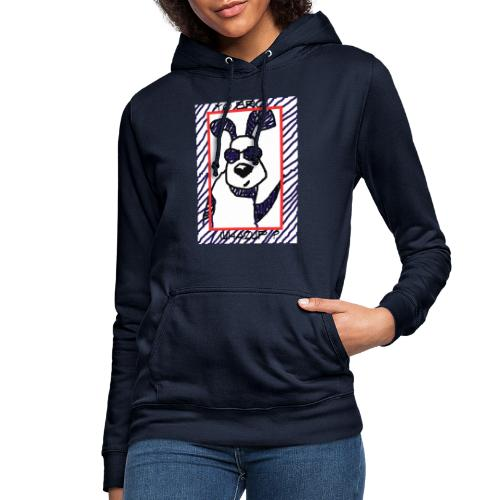 doggy star - Felpa con cappuccio da donna
