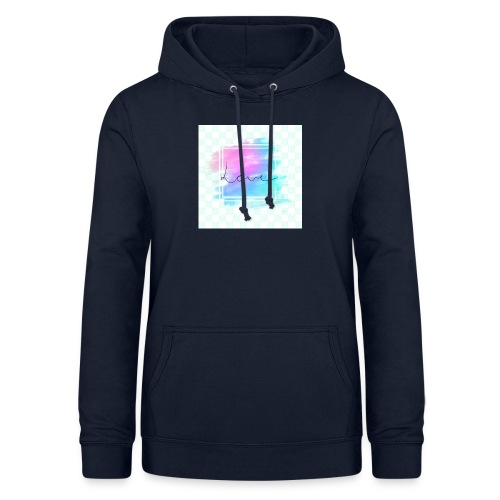 Paint - Love - Dame hoodie