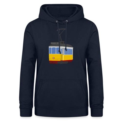 Tram car yellow - Women's Hoodie