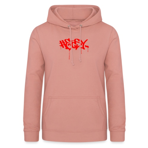 #EASY Graffiti Logo T-Shirt - Felpa con cappuccio da donna