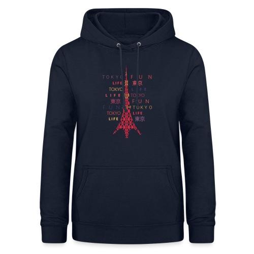 CR - Neon Tower - Sudadera con capucha para mujer