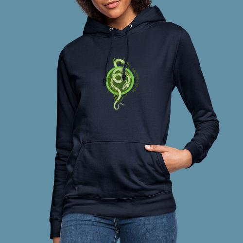 Jormungand logo png - Felpa con cappuccio da donna