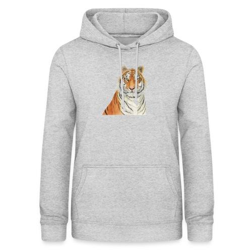 Tigre,Tiger,Wildlife,Natura,Felino - Felpa con cappuccio da donna