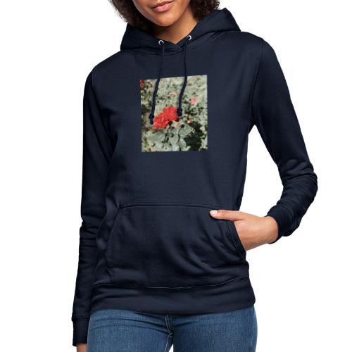 Red rose - Dame hoodie