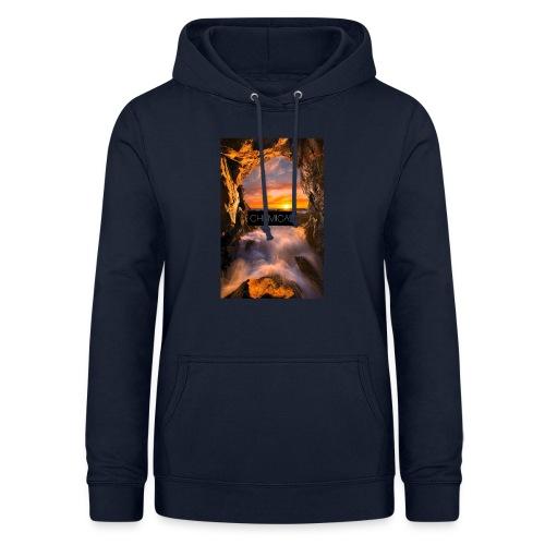 Cascata - Felpa con cappuccio da donna