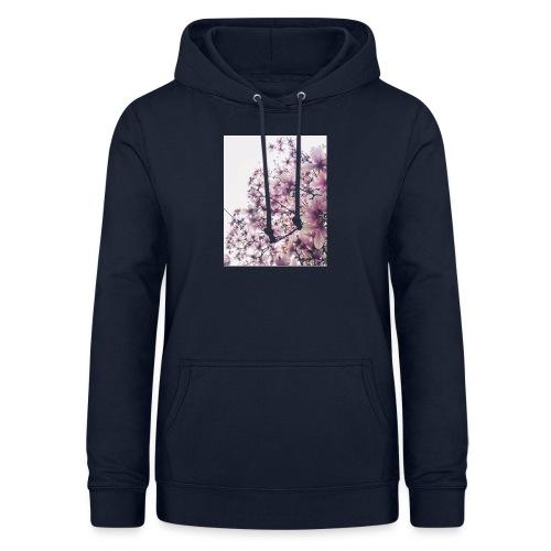 magnolia - Felpa con cappuccio da donna