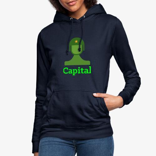 Capital - Frauen Hoodie