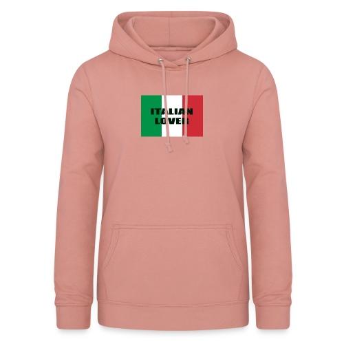 ITALIAN LOVER - Felpa con cappuccio da donna
