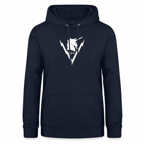 Brand RLL White - Felpa con cappuccio da donna