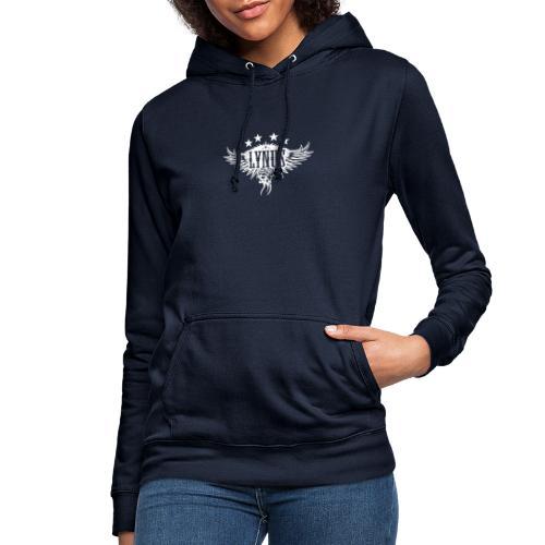 Large Lynus logo White - Women's Hoodie
