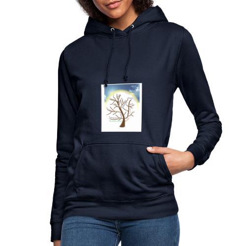Baum mit Licht - Frauen Hoodie