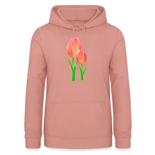 Belle fleur - Sweat à capuche Femme