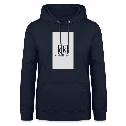 CK _critical kush - Sudadera con capucha para mujer