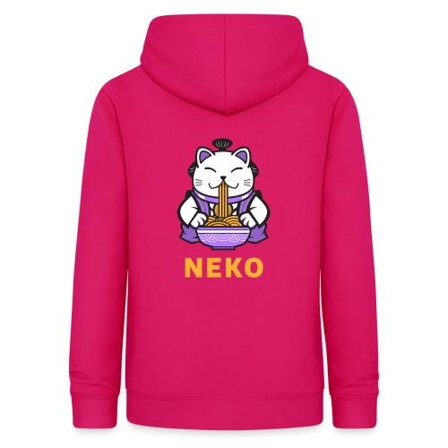 Gato Manga Anime | Neko Ramen Kawaii - Sudadera con capucha para mujer