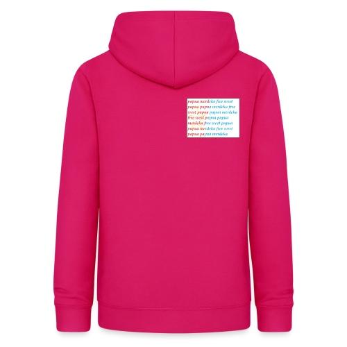 free west papua - Vrouwen hoodie