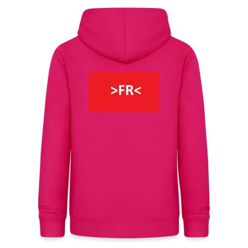 >FR< - Dame hoodie
