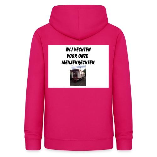 wij vechten voor onze mensen rechten - Vrouwen hoodie