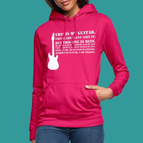 This is My Guitar - Women's Hoodie