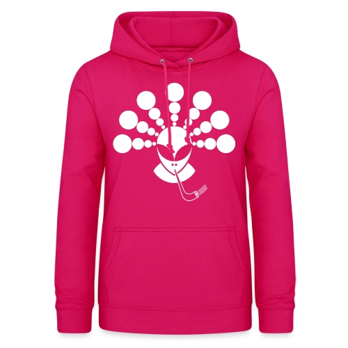 The Smoking Alien White - Women's Hoodie