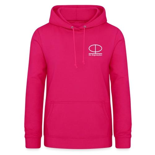 Simpel logo front en logo back - Vrouwen hoodie