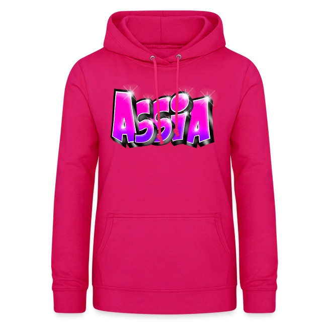 Assia graffiti name printable