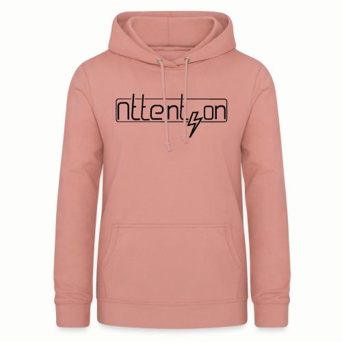 attention - Vrouwen hoodie