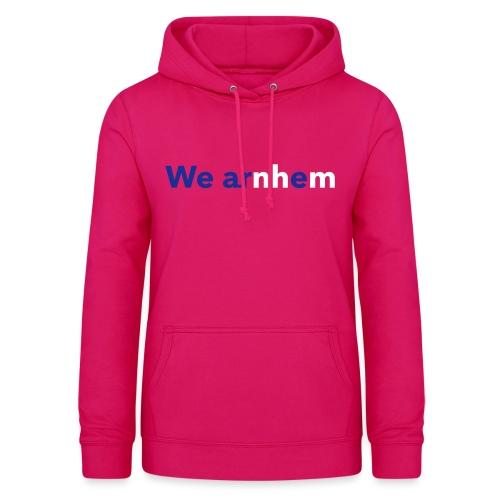 We arnhem - Vrouwen hoodie