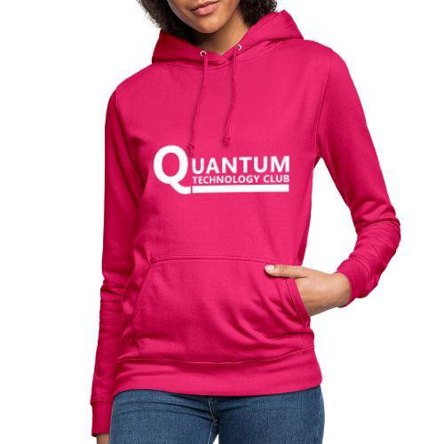 Quantum Tech logo (w) - Women's Hoodie