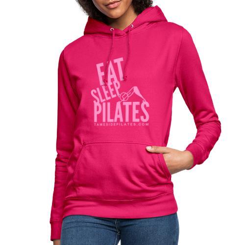 eat sleep pilates 2019 pink - Women's Hoodie