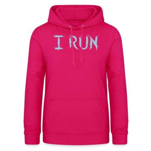 I Run - Frauen Hoodie